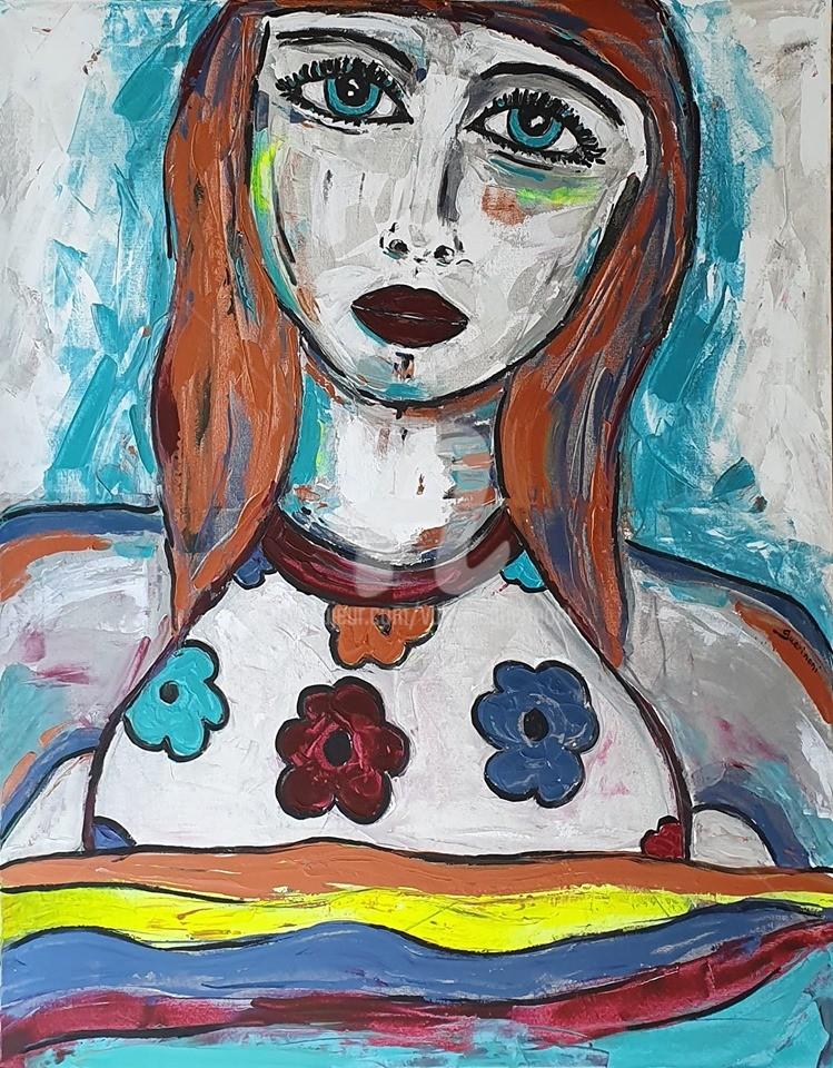 """Valérie Guerinoni - """"Fleur""""."""