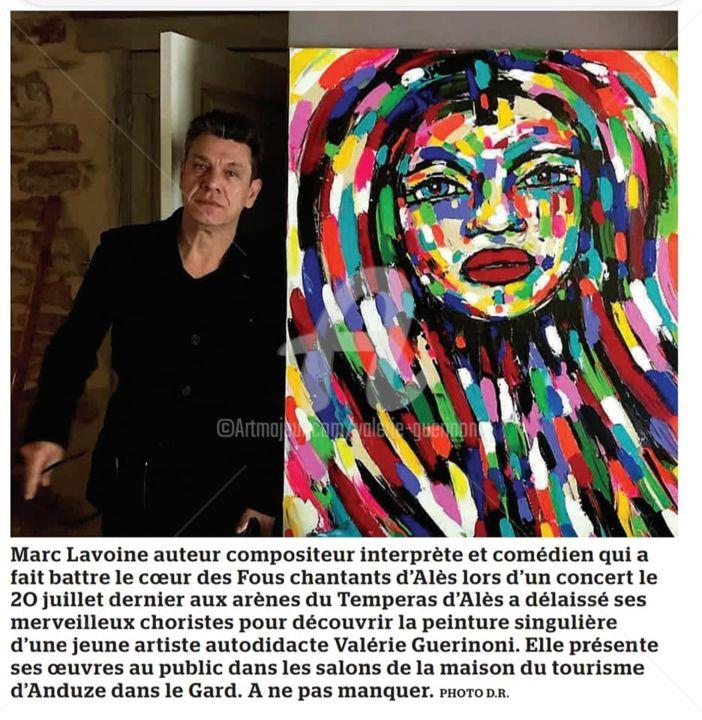 """Marc Lavoine a côté de """"Je reviens à toi""""."""